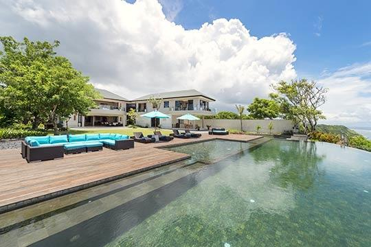 Pool and Villa - The Pala - an elite haven - Ungasan - rentals