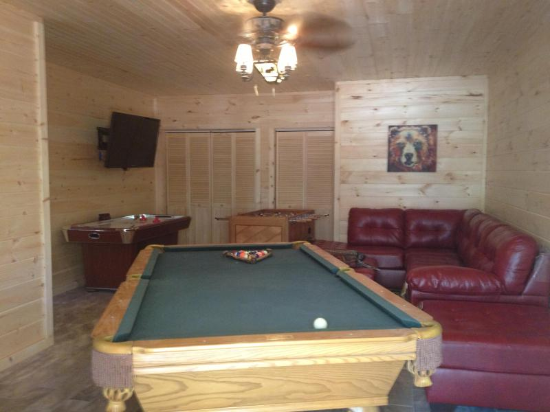 Awesome Game Room - New Luxury 4BR Log Home- Hot tub/ Great Game Room - Branson - rentals