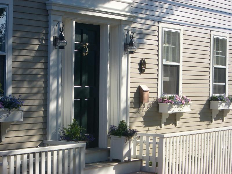 """Front of House - Gorgeous New """"Antique"""" Home on Quiet Side Street a - Nantucket - rentals"""