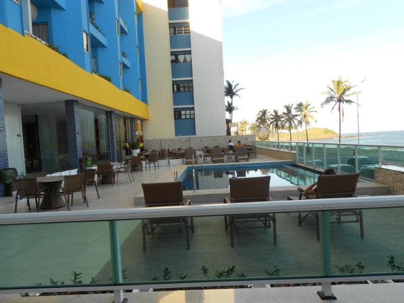 Pool  area - Cozy  Studio at  the  best  location in Salvador: - Salvador - rentals