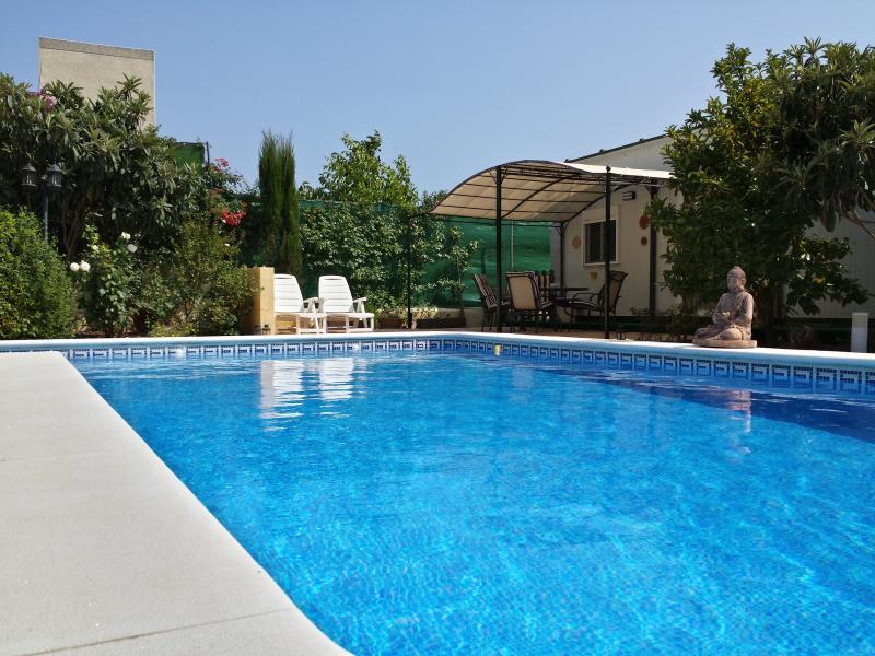 """pool - Bungalow """"Casa Velden"""" - Hinojos - rentals"""
