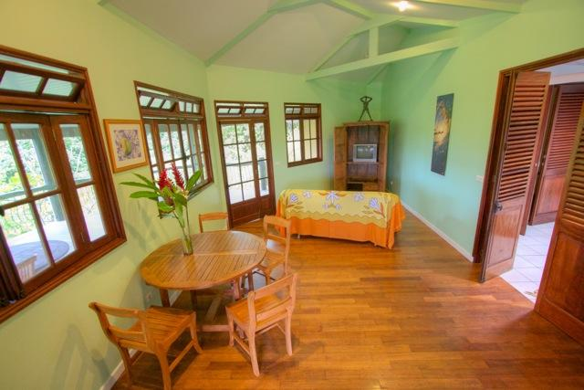 Living room - Green Room Villa, Teahupoo, Tahiti - Teahupoo - rentals
