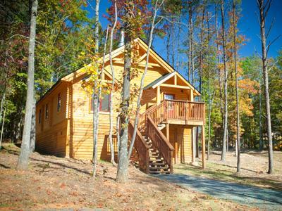 Shenandoah Crossing Log Cabin Jul.11-17/$499/Stay! - Image 1 - Gordonsville - rentals
