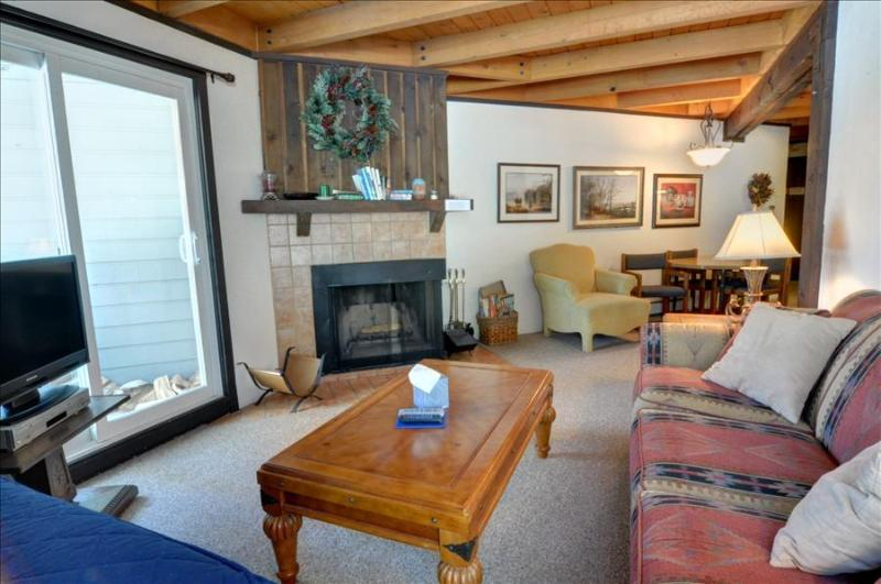 TREEHOUSE 108: Cute 1 Bed/1 Bath Condo, Sleeps 5, Ground Floor, Large Clubhouse, Hiking, Free Bus - Image 1 - Silverthorne - rentals