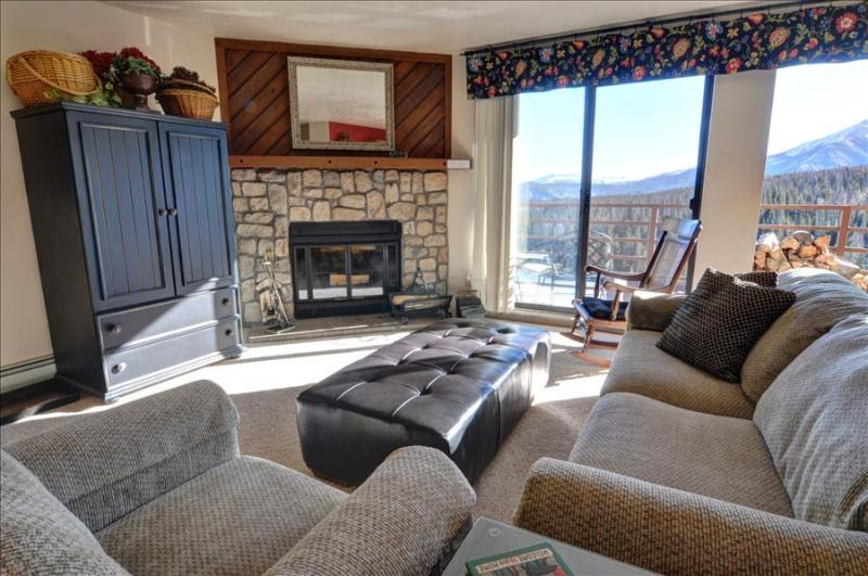 BUFFALO RIDGE 205: 2 Bed/2 Bath, Condo with Views, Sleeps 6, Clubhouse, Trails, Covered Parking - Image 1 - Silverthorne - rentals