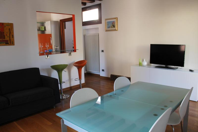 living room - Ca' Giove, art and relax in Venice - Venice - rentals