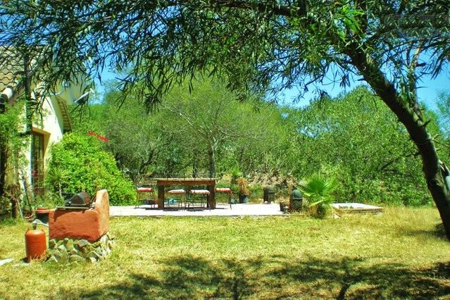 One of the terraces with access to the living area - 3br Rural Eco Home near Vejer & Beach with garden - Vejer - rentals