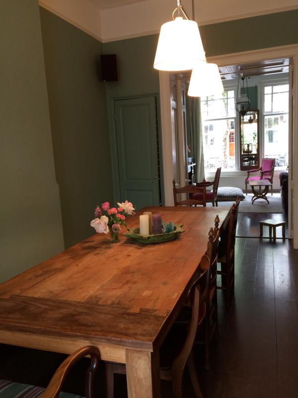 Dining room - Beautiful house museum quarter - Amsterdam - rentals