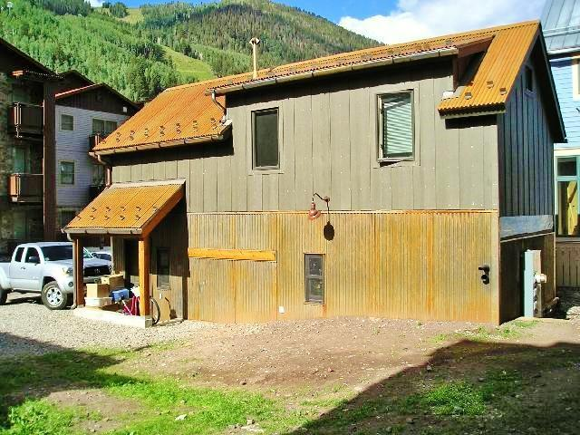 Looking at the house from the side yard - Near the Gondola and Chair 7! - Telluride - rentals