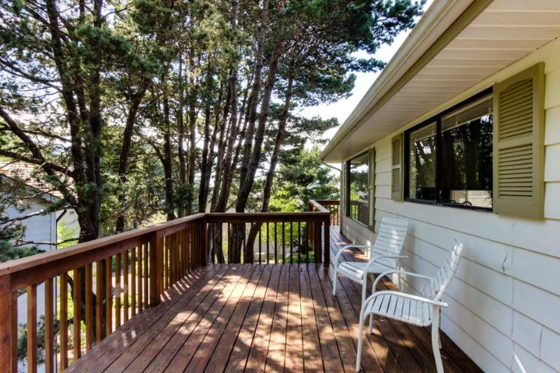 Oceanview home with private hot tub, space for 8 - Image 1 - Cannon Beach - rentals
