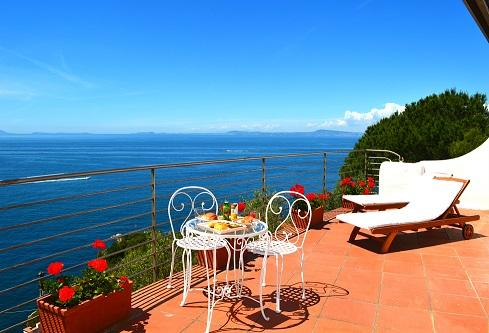 Large Terrace with Amazing View! - Luxury Villa with Amazing Views! - Sorrento - rentals