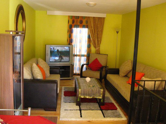 side of the salon - FURNISHED TRIPLEX TAKSIM/İSTANBUL FROM LANDLORD - Istanbul - rentals