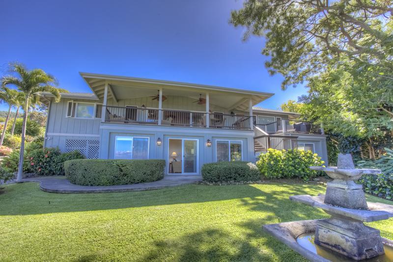 Elegant Estate Apartment~ Large 2 bedroom 1 bath~f - Image 1 - Kailua-Kona - rentals