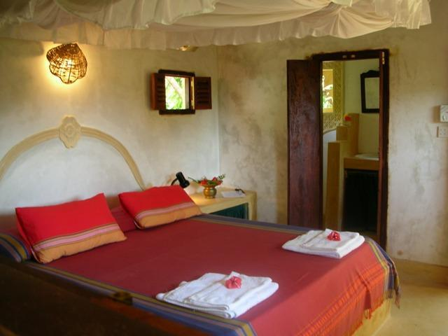 Bamboo room in the Garden cottage. - Fatuma's Tower Heron Suite - Lamu - rentals