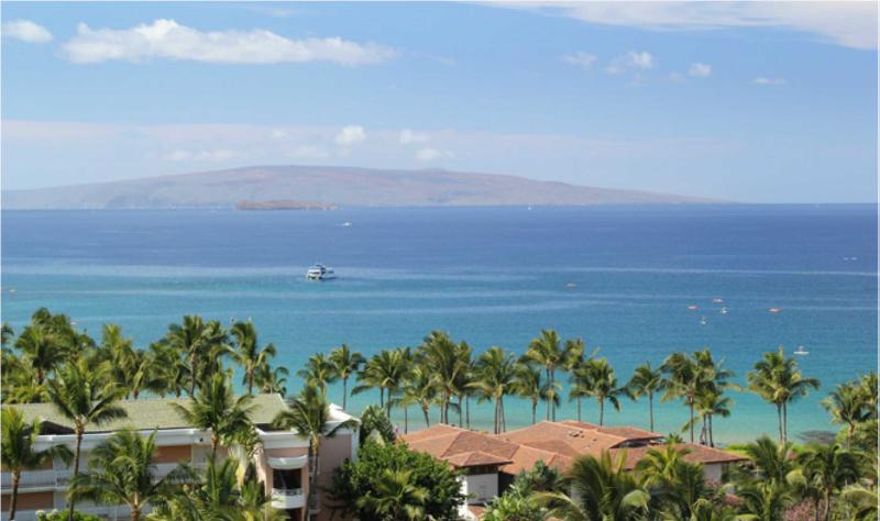 Oceanview from upper floors - Wailea Beach Villas 3BR Upscale Oceanfront Condo - Wailea - rentals
