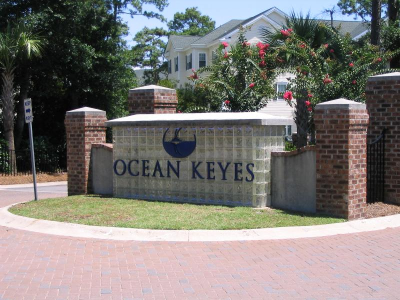 Entrance - Large 1st Floor Corner Unit at Ocean Keyes in North Myrtle Beach - North Myrtle Beach - rentals