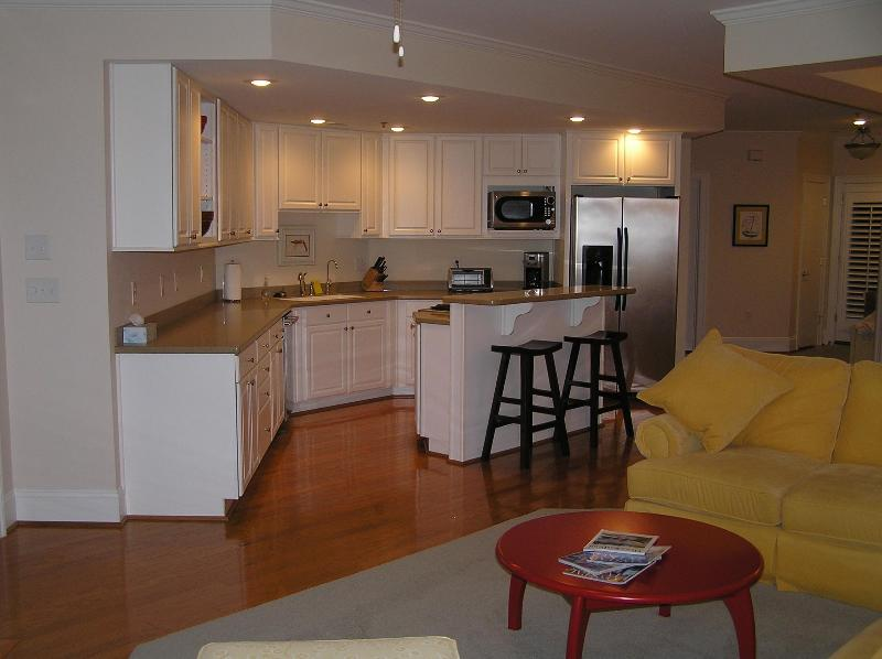 Easy to work in kitchen - Elegant condo in the heart of Oriental - Oriental - rentals