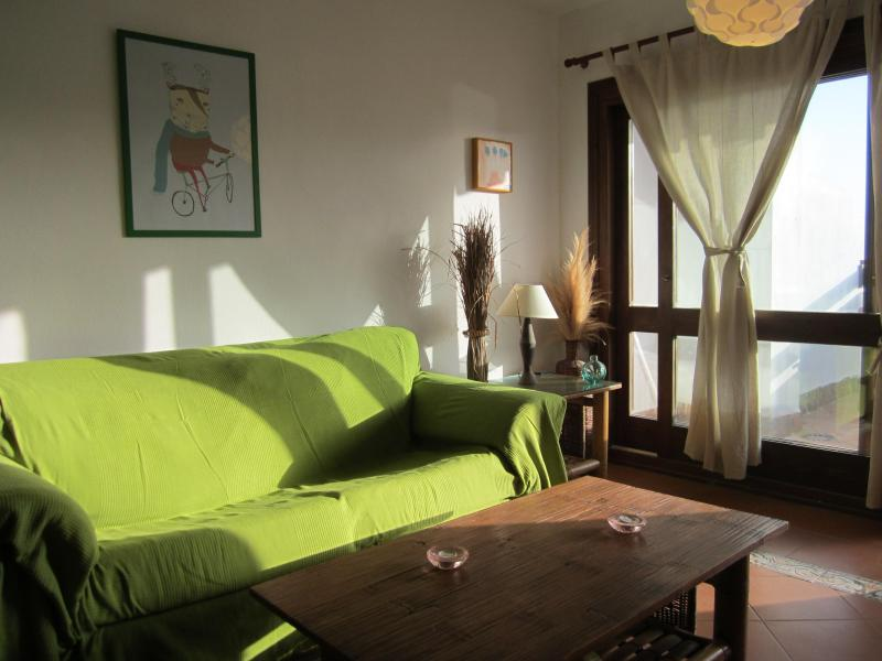 living room comfort - Charming ibiza style 2BD large terrace near beach - Cala d'Or - rentals