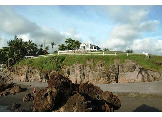 View from the sea of the mansion - Amazing Beach House in Nicaragua's Pacific Coast - Poneloya - rentals