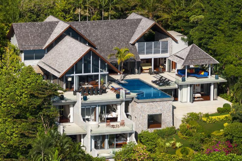 6 Bedroom Oceanfront Villa in Phuket - Image 1 - Kamala - rentals