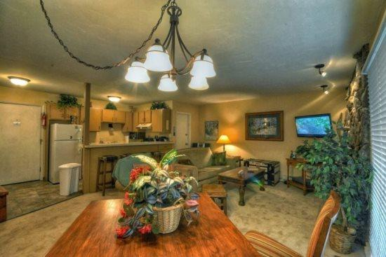 Open Living Area With Flat Screen TV and Gas Fireplace - Storm Meadows I 330 - Steamboat Springs - rentals