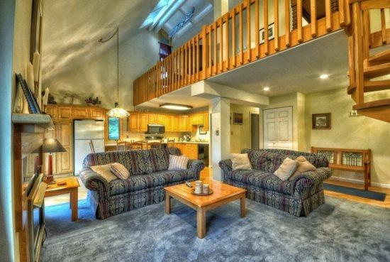 Very Large Living Area With Vaulted Ceilings, Gas Fireplace - Yampa View 212 - Steamboat Springs - rentals