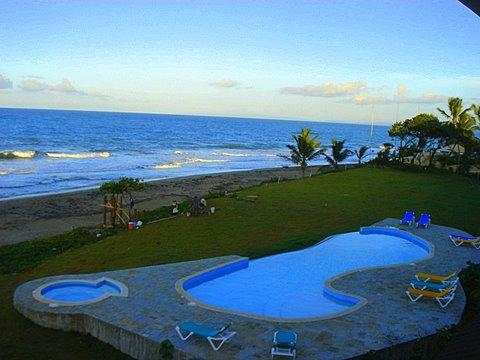 Feel the warmth of a new day starting. - Luxurious Oceanfront Penthouse - Cabarete - rentals
