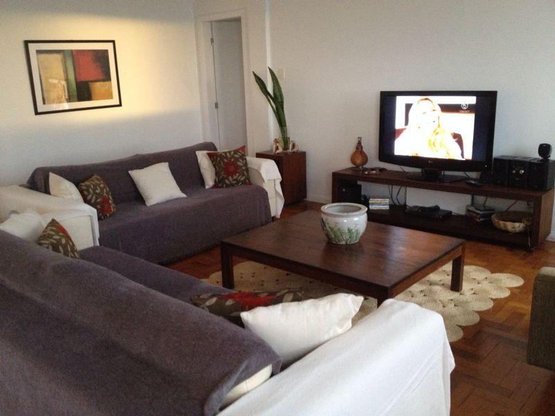 Living Room with Bay View - Bay View Apartment 11th Floor - Salvador - rentals