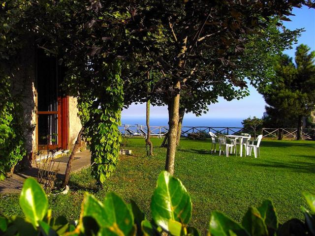 Garden with sea view - Ravello Casa Lacco AMALFICOAST - Ravello - rentals