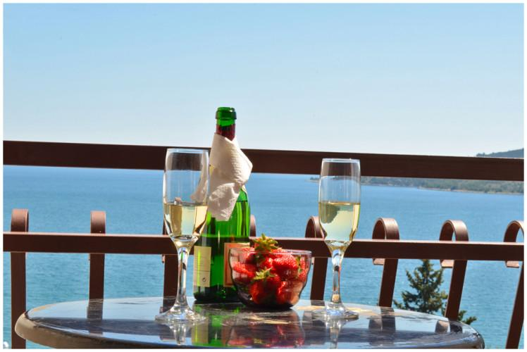Balcony view - Fabulous & stylish apartment with great sea views - Seget Vranjica - rentals