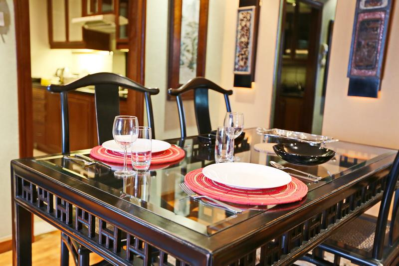 Dining in will be quietly magnificent - 2BR/2BTH City View Apt @ Central Bkk - Bangkok - rentals