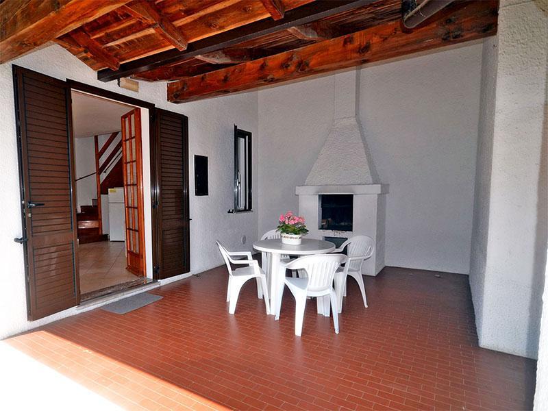 Ampio portico coperto e arredato - Lidi Ferraresi, affitto villetta con giardino - Lido delle Nazioni - rentals
