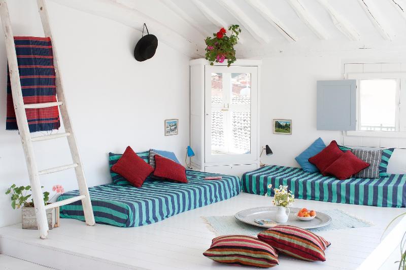 Bedroom 4, facing south - Casa Josephine, villa in Rioja Wine Region Spain - Sorzano - rentals