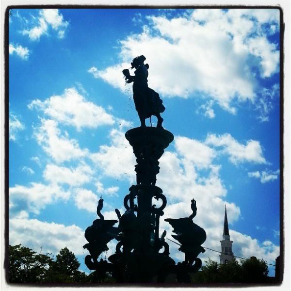 Famous Fountain in Downtown Cherstetown - Charming Apartment in Historic Chestertown, MD - Chestertown - rentals