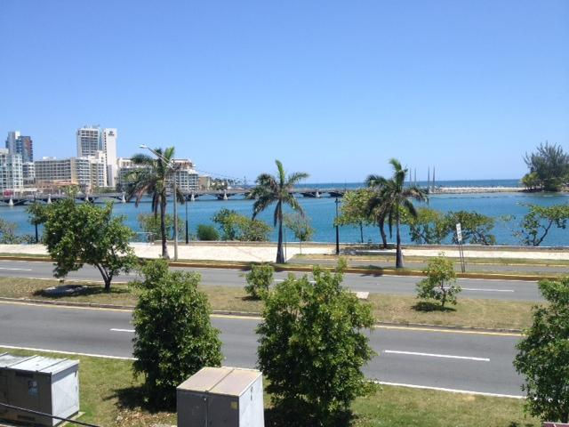 Front Balcony - Lagoon View - Miramar Lagoon Suite - 3 Bedrooms with great view - San Juan - rentals