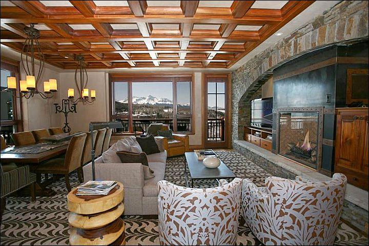 Spacious and Open Living Room (Representative Unit) - Luxury Condo with Amazing Amenities - Magnificent Year-Round Destination (6703) - Telluride - rentals