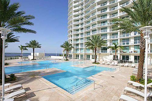 Oasis Pool - Ft Myers Florida Vacation 25th Floor Condo at Oasi - Fort Myers - rentals