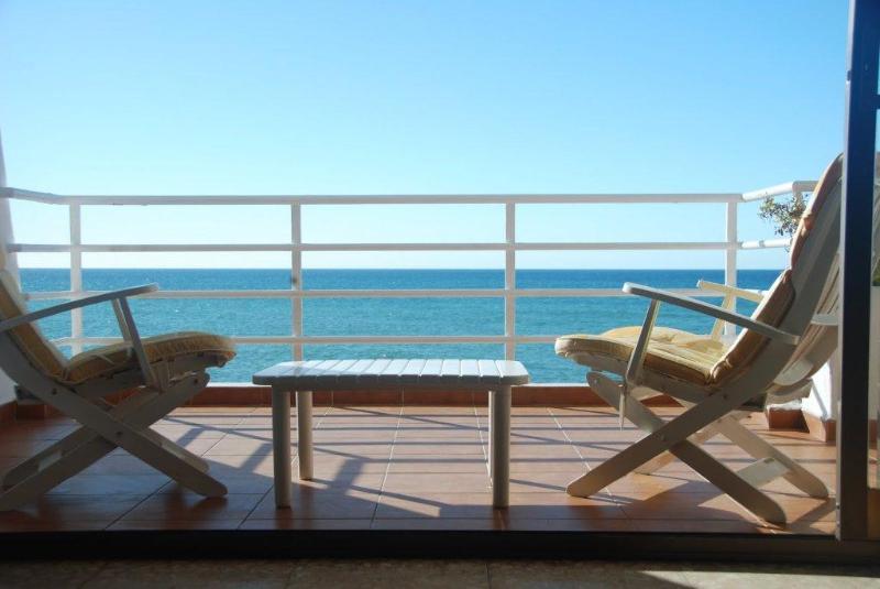 View from the Terrace - Sea front apartment near Barcelona - Sant Pol de Mar - rentals