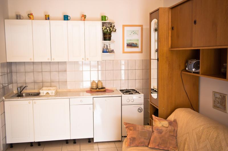 Studio - Lovely studio with terrace in Krk - Krk - rentals