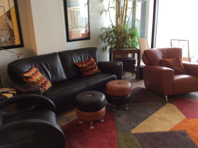 Living Area - Stunning/Stately Oceanfront Condo in Myrtle Beach - Myrtle Beach - rentals