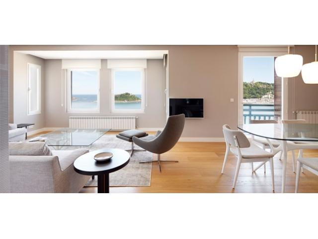 Playa de La Concha 1 | Exclusive, facing La Concha Beach - Image 1 - San Sebastian - rentals