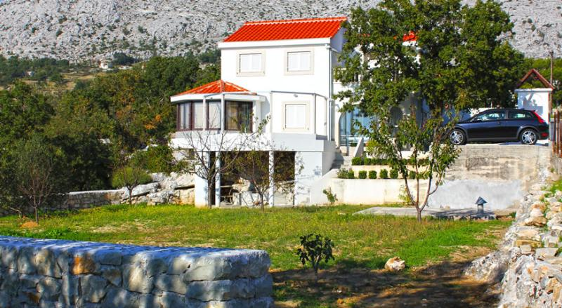 View from the south - Villa Ružica-MOSOR - Stobrec - rentals