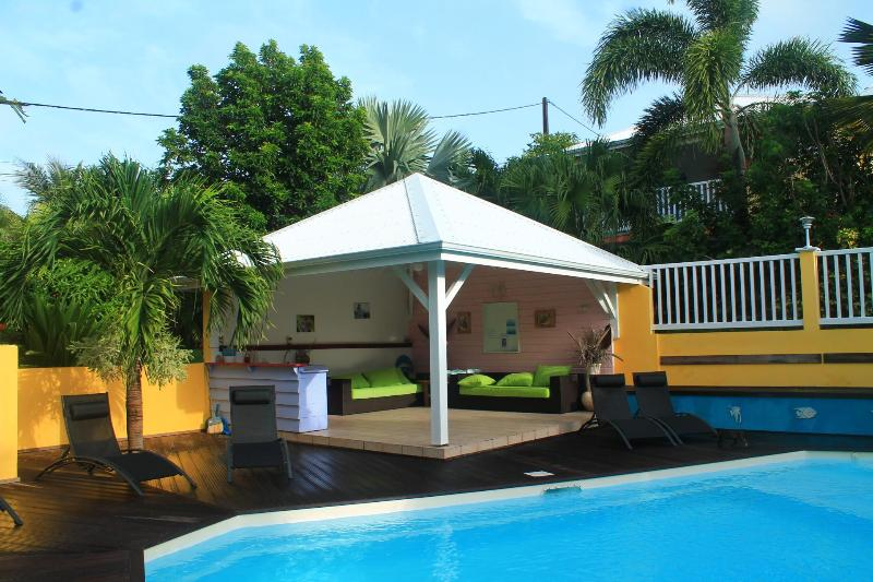 Le coin piscine - Location de gîtes à Sainte Anne Tival-location - Sainte Anne - rentals