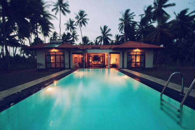 Stunning beach front villa in Ranna / Tangalle area - Image 1 - Dambulla - rentals