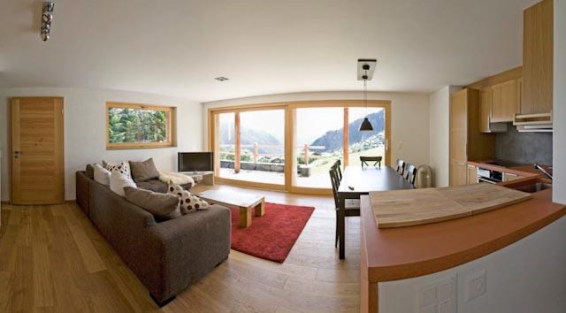 2 bedrooms apartment with amazing view - Image 1 - Verbier - rentals