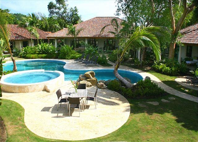Backyard area view - This prestige vacation rental property will made you fell pamper to the end. - Sosua - rentals