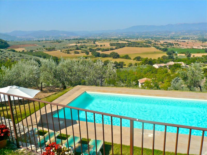 Enjoy the panoramic views from this 16th century house with private pool. - Image 1 - Lenano - rentals