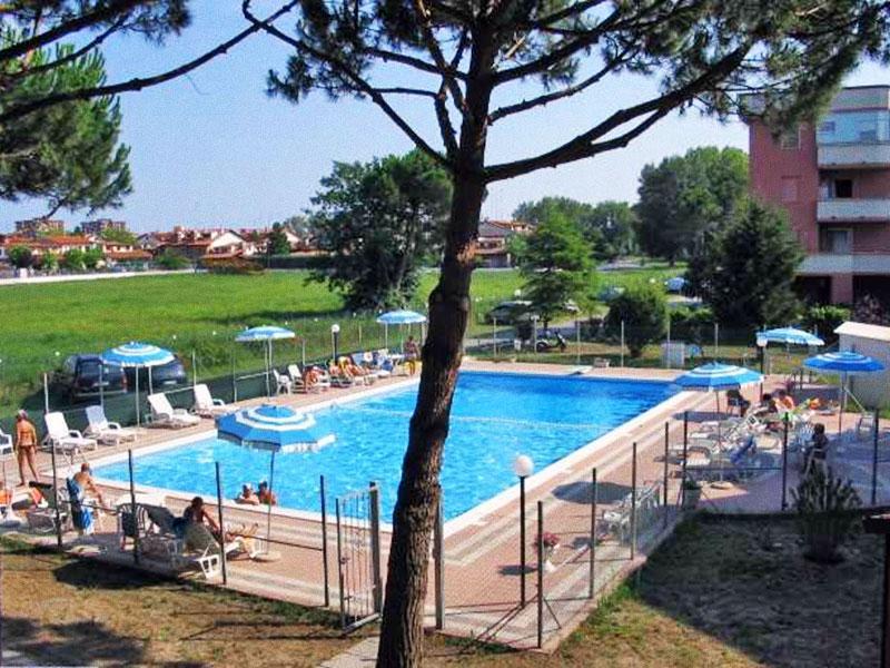 Piscina ad uso comune - Appartamento con piscina e balcone a Lido Nazioni - Lido delle Nazioni - rentals