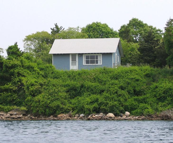 View from the pond - New Cottage at Kagels Cottages - Narragansett - rentals