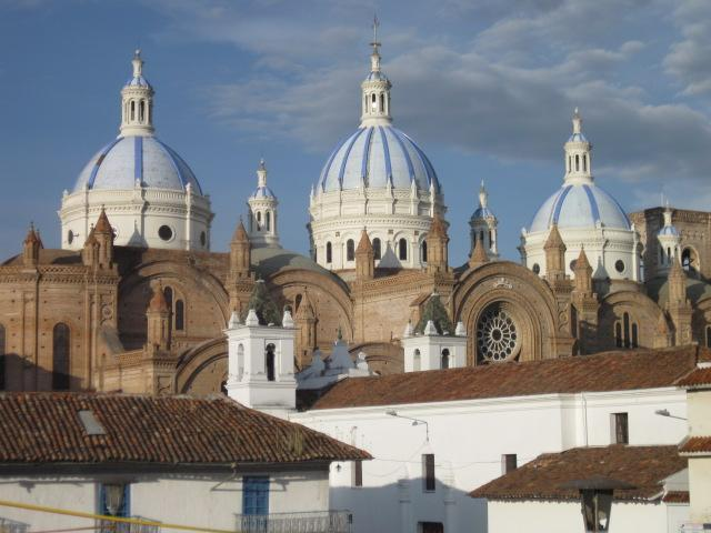 Cathedral is 1 block away from apt. - Grand Colonial in the Heart of Cuenca - Cuenca - rentals